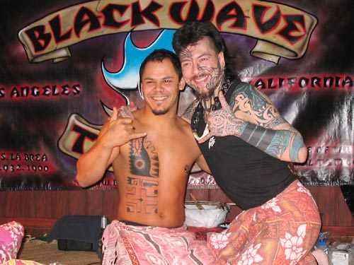 Black Wave Tattoo: Photo at the Tattoo Expo in Malmo, Sweden (Dec.